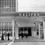 1960's photo of the entrance to the terminal building thumbnail