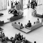 1960's photo of the main lobby in the terminal building thumbnail
