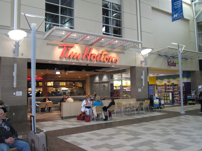 A picture of Tim Hortons