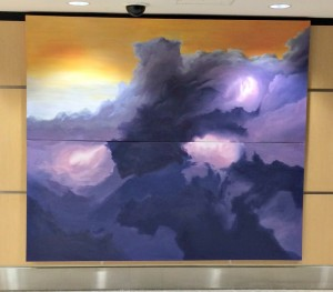 Art at the Airport called Heightened