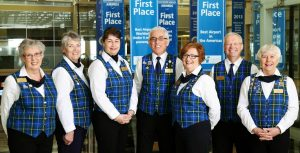 Photo of Tartan Team volunteers