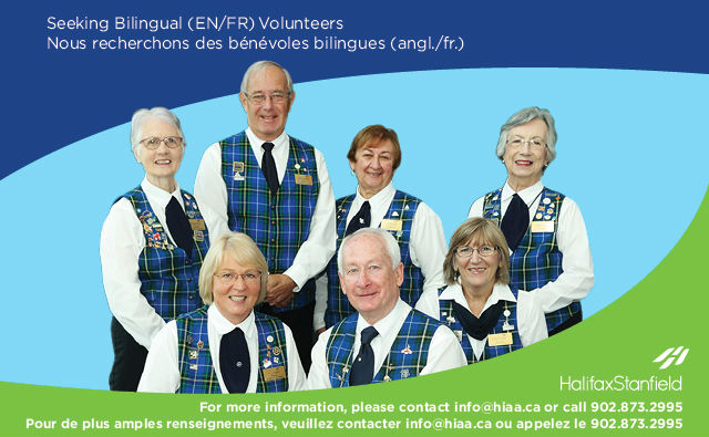Promo for bilingual tartan team members
