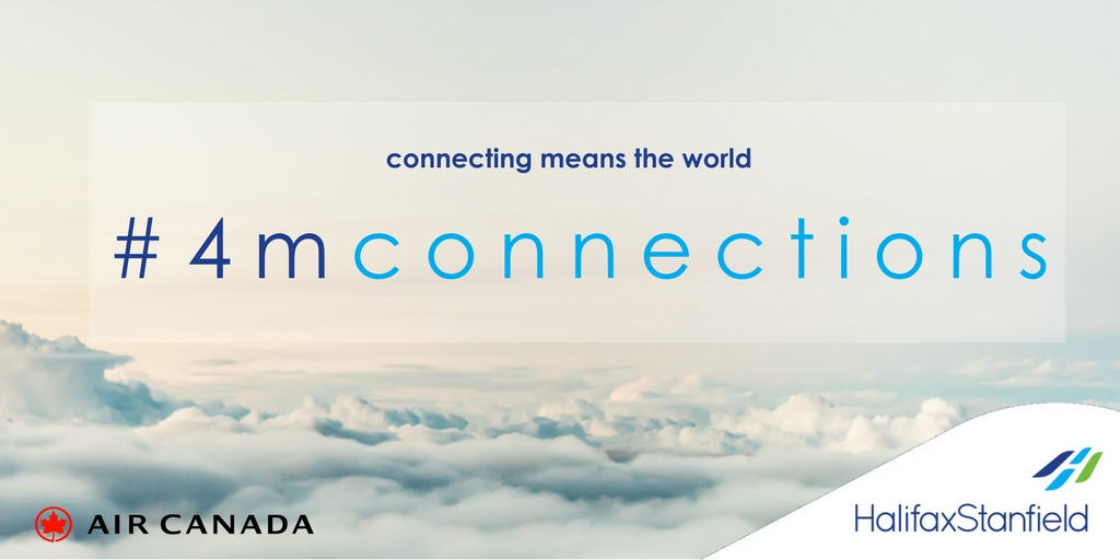 Halifax Stanfield Launches  4 Million Passengers – Countless Connections Contest