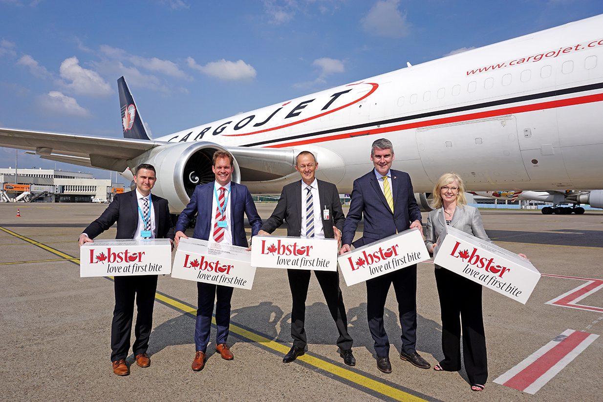 Cargojet & Cologne Bonn Airport Play Crucial Role in Exporting Nova Scotia Products from Atlantic Canada to Europe