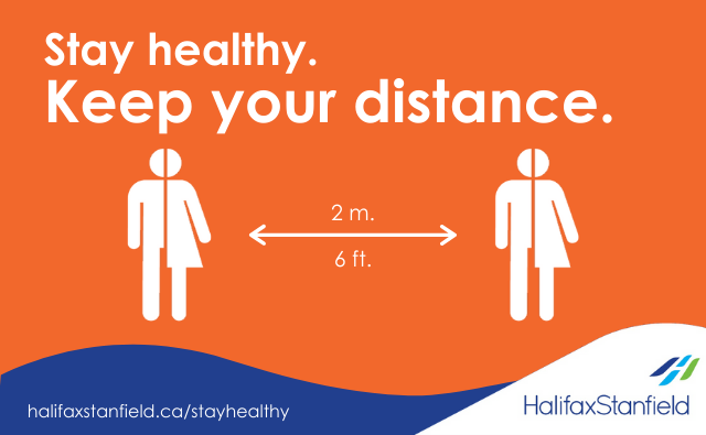 Stay healthy: Physical distancing